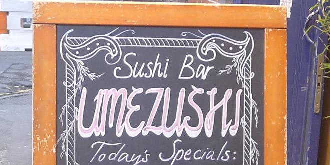 Back To Umezushi, Manchester