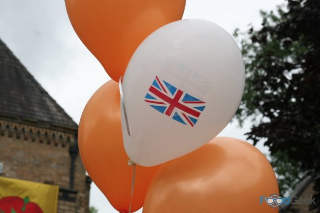 Outside Balloons