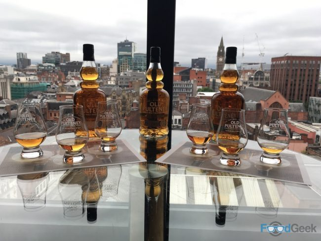 Whisky with a view....