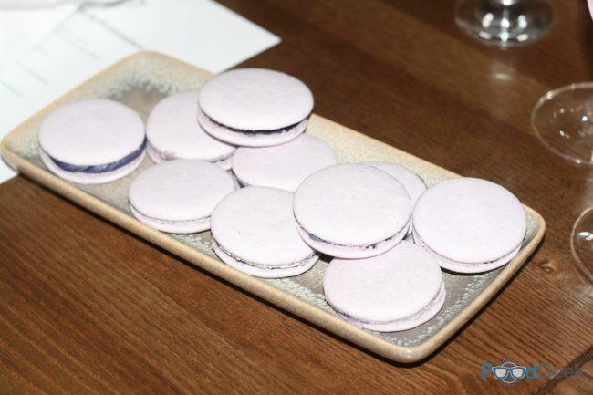 Parma Violet Macarons