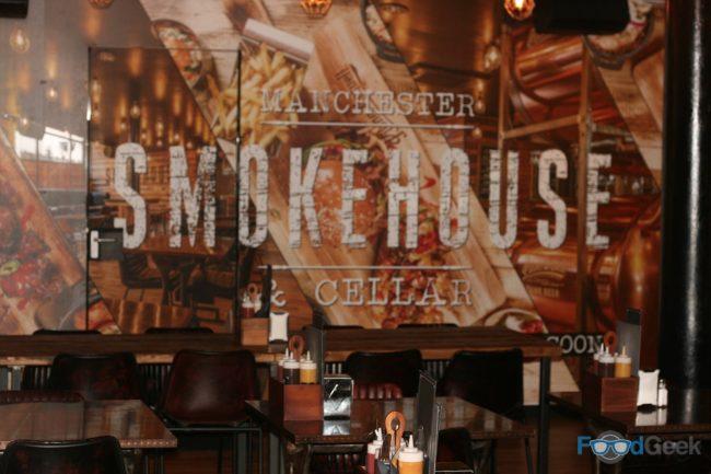 Inside Smokehouse