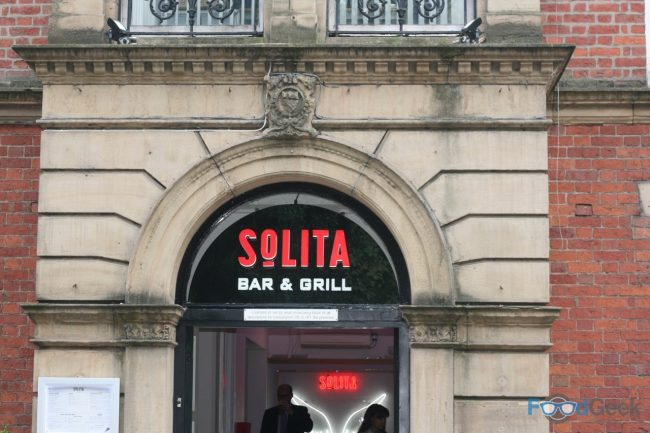 Outside Solita Preston