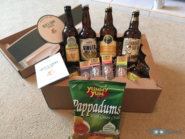 Beer and Curry Experience Taste Box