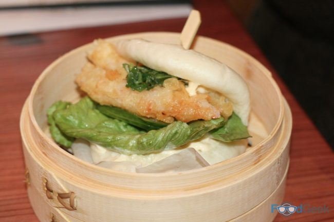 Tiger Prawn Tempura Shoryu Bun