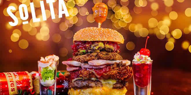 The Solita Christmas Burger 2016